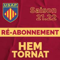 2021/2022 - RE-ABONNEMENT
